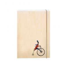 """Σημειωματάριο """"Ρετρό Ποδηλάτης"""""""