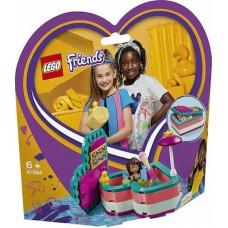 Lego Friends: Andrea's Summer Heart Box 41384