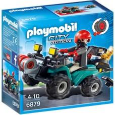 Playmobil  Ληστής με Τετρακίνητο Όχημα 6879