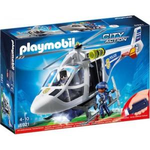 Playmobil Αστυνομικό Ελικόπτερο με Φως LED 6921