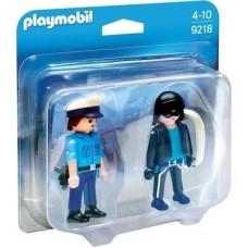Playmobil Αστυνομικός και Κλέφτης 9218