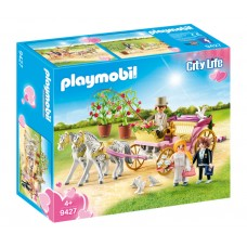 Playmobil Γαμήλια άμαξα με νεόνυμφους 9427