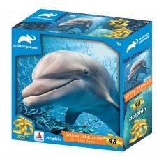 13671 3DΠαζλ48 Animal Planet – Dolphin (Κωδικός 410020)