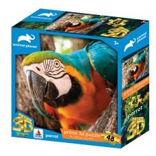 13673 3DΠαζλ48 Animal Planet – Parrot (Κωδικός 410019)