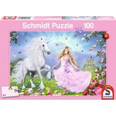 55565 Παζλ100St Πριγκιπισσαμονοκερων (Κωδικός 300267)