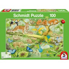 56250 Παλζ100St – Ζώα της Ζούγκλας (Κωδικός 300768)