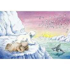 Schmidt Η Μικρή πολική Αρκουδίτσα με την παρέα της 60pcs (Κωδικός 55046)