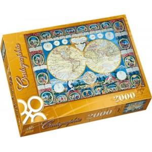 Trefl Παγκόσμιος Χάρτης του 1788 2000pcs (Κωδικός 27025)
