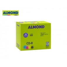 CD-R 700MB 52X 10T SLIM ALMOND